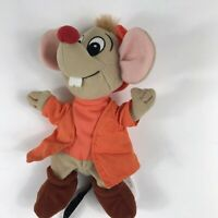 "Cinderella Mice Mouse Plush 8"" Beanbag Disney Store Collectible Mini Bean Bag"
