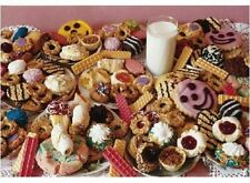 """Puzzle for an Evening, Care for a Cookie 250 Piece 19"""" x 13"""" by Fx Schmid"""