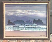GRAHAM HERBERT - Listed Artist - Original Seascape - Over $15,000 Value - Signed