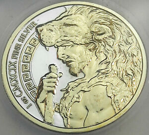 PROVIDENT ISSUE AUGEAN STABLES .999 SILVER ICG PR GENUINE GOLD GILDED