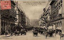 CPA PARIS 2e-La Rue de la Paix décorée (321672)