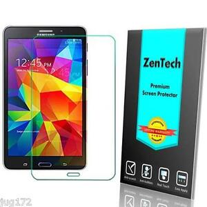 2X ZenTech Tempered Glass Screen Protector Guard For Samsung Galaxy Tablet