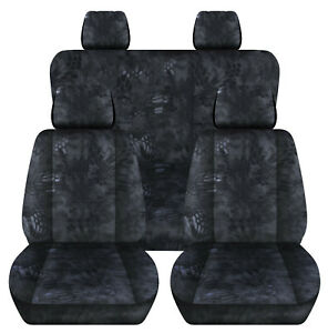 Fits 1990-2002 TOYOTA 4 RUNNER Front+ Rear camouflage car seat covers