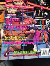 WWF WWE Magazine NOVEMBER 1994 - Bret Hart Cover