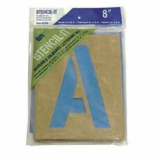 Large-Alphabet-Stencils-Letters-8inch-Stencil-Oil-Board-Numbers-Symbols-Reusable