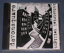 DEVONSQUARE - INDUSTRIAL TWILIGHT CD! 15 TRACKS! RARE AUTOGRAPHED MAINE GROUP!