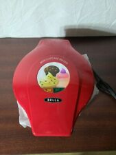 NIB Bella Mini Cupcake Maker, Red