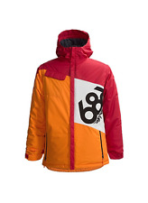 686 Boys Mannual Iconic Snowboard Jacket (L) Red