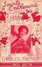 CHARLES TRENET / SAINTE CATHERINE / 1940
