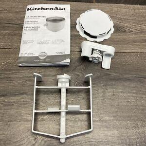 kitchenaid mixer Ice Cream Maker Attachment 2 Qt. Paddle