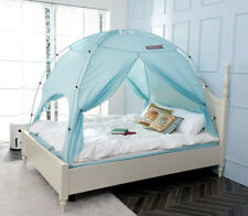 BESTEN Floorless Indoor Privacy Tent on Bed Twin Mint