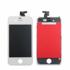 TOUCH SCREEN DISPLAY LCD RETINA SCHERMO E VETRO FRAME PER APPLE IPHONE 4S BIANCO