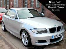 2012 BMW 125i M Sport 2dr Coupe Silver Manual 1 Owner High Spec 37,200 miles FSH