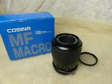rare 100mm 3.5 Macro lens for Nikon ais  Phoenix (Vivitar Cosina etc) mint + box
