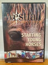 Stacy Westfall Starting Young Horses Horse Training Dvd set