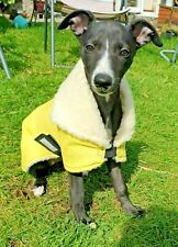 "aITALIAN GREYHOUND / WHIPPET PUPPY WATERPROOF SNOOD DOG COAT 10"" -18"" ANY LINING"