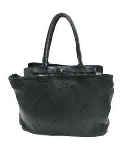 BZNA Bag Daria Schwarz vintage Designer Damen Leder Handtasche Schultertasche