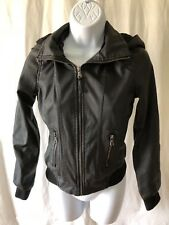 New Look Brand Women's Jacket Size S New W/Tags Black Color Long Sleeve Zip Up R