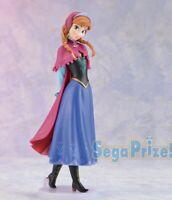 FROZEN Premium Figure Anna SEGA Japan Lucky Prize Disney with Box Anayuki