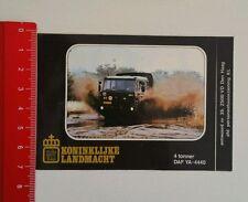 Aufkleber/Sticker: Koninklijke Landmacht DAF YA 4440 (23051640)