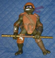2003 *** GIANT 30 cm FIGHTIN GEAR DON COMPLETE *** TEENAGE MUTANT NINJA TURTLES
