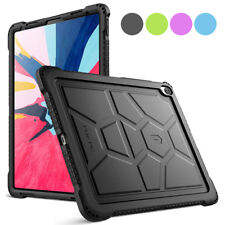 For iPad Pro 12.9 2018 [Shockproof] w/Drop Protection Silicone Case Cover 4Color