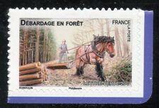 STAMP TIMBRE FRANCE AUTOADHESIF N° 824 ** FAUNE / CHEVAUX DE TRAIT DE NOS REGION