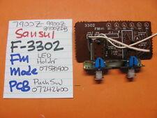 SANSUI F-3302 FM MODE PCB PUSH SWITCH 07242600 9900Z 7900Z STEREO RECEIVER