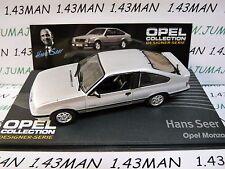 OPE132R 1/43 IXO designer serie OPEL collection : MONZA H.Seer