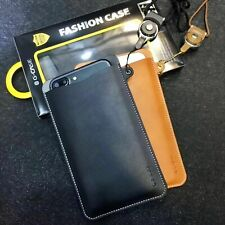 G-CASE Universal Leather Wallet Slot Pouch Sleeve Case For iPhone X 6/7/8 Plus