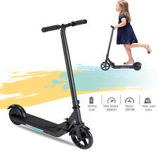 Cityroller E Scooter ElektroRoller Klappbar 200W Kickroller mit LED Licht Kinder