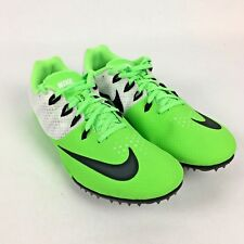 NEW Nike Zoom Rival S8 Cleat Track Spikes Voltage Green/White Mens 10 806554-300