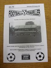 21/03/2013 The Football Traveller Magazine: Volume 26 Issue 30 - Cover photo - S