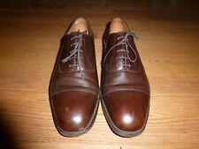 Men's JM Weston Brown leather lace shoes Made France - Size 9.5D