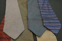 Lot of 6 DKNY Neckties -- incredibly cheap price! Grab it! D3