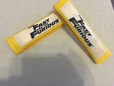 Fast And Furious Apc Yellow Shoulder Pads Car/Truck/Rv Seat Belt  Harness Strap