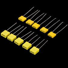 50pcs 10Value Polypropylene Electrolytic Capacitor Assortment Kit 1nF-0.47uF Set