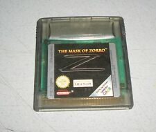 Z The Mask of Zorro-NINTENDO GAMEBOY COLOR Go Jeu Module