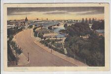 AK Strasbourg, Strassburg, Rheinbrücke 1923 Postes Militaires Belgique