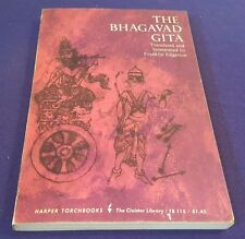1964 THE BHAGAVAD GITA Paperback Book Translated FIRST Harper Torchbook Edition