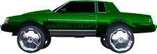 "78-88 Monte Carlol Cutlass Regal 5"" rim lift kit 22 23"