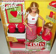 Doll Barbie Fun Treats Cook Homemaker Cooking Stove Collectible Rare Xmas Gift