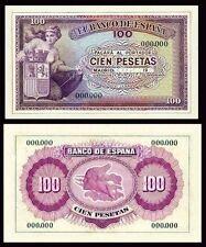 Facsimil Billete 100 Pesetas 1945 NE - Reproduction