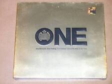 DIGIPACK 3 CD / MINISTRY OF SOUND / ONE / GREATEST DANCE RECORDS / NEUF