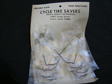 TWO TIRE SAVERS ROAD TOURING TRACK FIXIE RACING PISTA BICYCLE NOS VINTAGE
