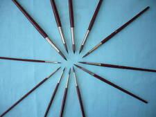 12 PINCEAUX peinture  PONEY  1 2 3 4 5 6 7 8 9 10 11 12