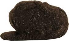 Roxy Girls Double Twist Brown Visor Beanie Cap Hat