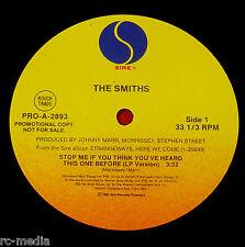 "THE SMITHS -Stop Me If You Think You've Heard..- Rare USA Sire Promo 12"" /Vinyl"