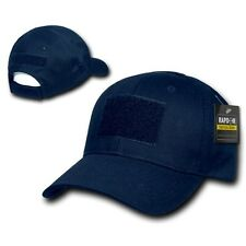 Navy Blue Tactical Operator Contractor Military Patch Cap Caps Hat Hats