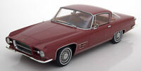 1:18 BoS Chrysler Dual Ghia L6.4 Hardtop Coupe 1960 darkred-metallic